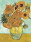 Vincent van Gogh, Still Life: Vase with Twelve Sunflowers (JH 1562), 1888, oil on canvas, 35.8 x 28.3 in. / 91 x 72 cm, US$330