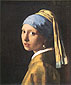 Jan Vermeer, Girl with a Pearl Earring | Girl with Turban, 1665, oil on canvas, 17.7 x 15.7 in. / 45 x 40 cm, US$275