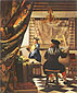 Jan Vermeer, The Studio | The Artist's Studio | Allegory of Painting | The Art of Painting, 1666-1667, 130 x 110 cm, US$520